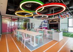 office cafeteria design enchanting model paint. Telus International Bucharest #office #interior #design #cafeteria Office Cafeteria Design Enchanting Model Paint
