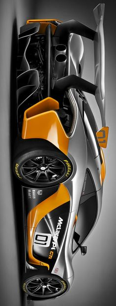 McLaren GTR P1 Concept by Levon