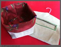 How to sew a clothespin bag. Photo tutorial.