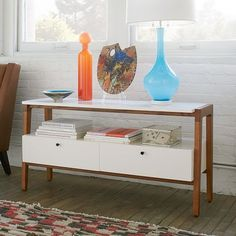 Modern Media Console - Small | west elm