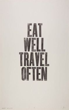 """Eat well, travel often."" -- Eat well and be well with Polaner products - polanerallfruit.com #resolution #howtolive #inspiration"
