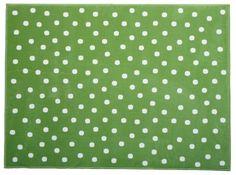 Acrylic Rug Topos green / Alfombra Acrílica Topos Verde