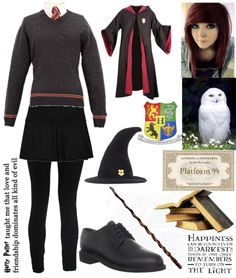 """""""Harry Potter"""" by mydeadlydreams ❤ liked on Polyvore"""