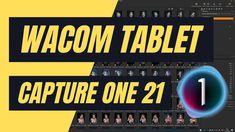 Wacom Grafiktablett einrichten für Capture One Pro 21 (Capture One 21 De... Broadway Shows, Tutorials, Deutsch, Wizards