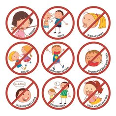 Adesivos Regras da Casa - BBDU Childhood Education, Kids Education, Writing Pictures, Classroom Rules, Emotion, Social Stories, Business For Kids, Educational Activities, Baby Decor