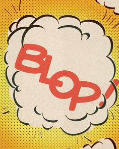Comic Strip Prints  Set of Four  Shebam Pow by ThreeStepsAhead