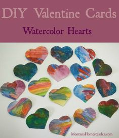 We came up with this fun, easy idea for DIY Valentine cards that is perfect for kids and adults! We made these colorful, one of a kind Valentine cards in about an hour Diy Valentines Cards, Valentine Decorations, Valentine Day Crafts, Fun Arts And Crafts, Diy Home Crafts, Fun Crafts, Craft Tutorials, Craft Projects, Sewing Projects