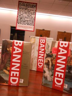 Tallahassee Community College Library's Banned Books Week Display 2013