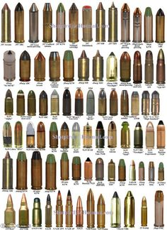 different calibers.