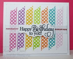 Washi Tape Birthday