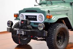 1973-toyota-land-cruiser-4×4- fj40-frame-off-green-rare-restoration-h | Land Cruiser Of The Day!