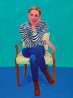 David Hockney, Edith Devaney, 11th, 12th, 13th February 2016 [WSJ 6/24/16]