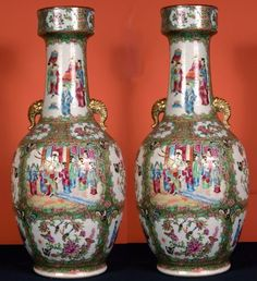 rose medallion porcelain vases - Google Search