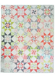 FAT QUARTER FRIENDLY Down South is a fat quarter friendly quilt pattern and would also look great in a two colour version. Full instructions are...