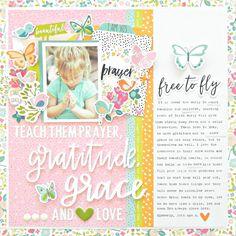 Illustrated Faith | Seeds of Faith Collection | Layout by Stephanie Buice