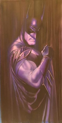 JLA Portrait - Batman by Alex Ross *