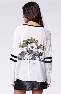 Some Days Lovin City Of Angels Raglan T-Shirt #pacsun