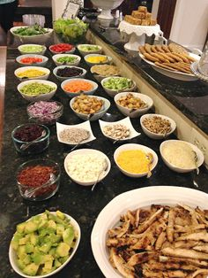 birthday brunch ideas farm party 60 Ideas for 2019 Salad Bar Party, Party Salads, Fruit Salads, Orzo Salat, Feta, Birthday Brunch, 60th Birthday, Fruit Birthday, Birthday Crafts