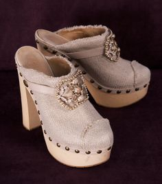 dc95f55bd9 CHANEL HEELS  Michelle Coleman-HERS  450-these are so cute but I think