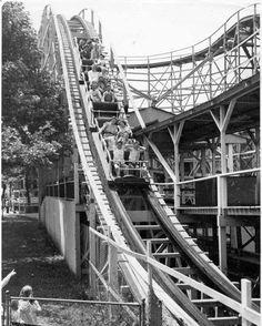 Roller Coaster at Marshall Hall Park.