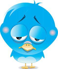 Blue Bird I M Watching You Emojis Smileys Stickers Pinterest