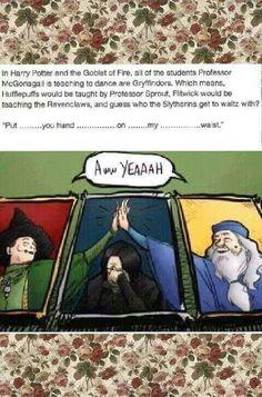 Haha poor Snape!!