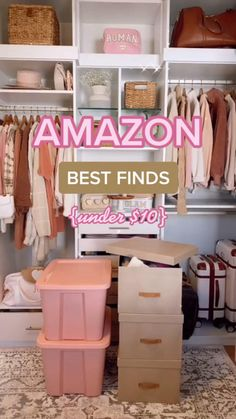 Amazon Hacks, Amazon Gadgets, Cool Gadgets To Buy, Home Gadgets, Kitchen Organization, Organization Hacks, Laundry Room Storage, Toy Storage, Bathroom Storage