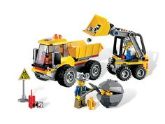 My son would love this...Transport the gold out of the mine with the Loader and Dumper
