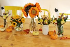 Tips for arranging fall bouquets!