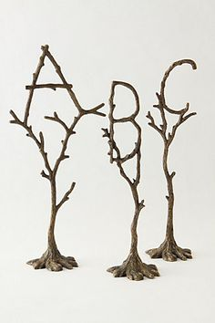 So cool!  Make out of twigs?