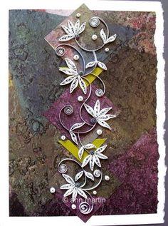 all things paper: Repurposed Paper - Mosaic Card