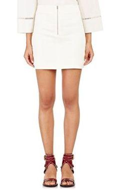 ISABEL MARANT Stretch-Twill Loria Miniskirt. #isabelmarant #cloth #miniskirt