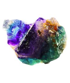 """Fluorite is commonly used for clarity—it can also really help you connect to your purpose. This stone will take all your energy and ideas and really help you hone in to see what you are meant to do. Fluorite is also known as the """"Genius Stone"""" because it raises your power of concentration."""