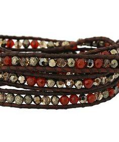 "Chan Luu 32"" Carnelian Mix/Natural Dark Brown Bracelet #accessories  #jewelry  #bracelets  https://www.heeyy.com/suggests/chan-luu-32-carnelian-mixnatural-dark-brown-bracelet-carnelian-mix-natural-dark-brown/"
