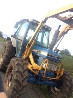 Ford 6610 sq #tractor 4wd with #loader,  View more on the LINK: 	http://www.zeppy.io/product/gb/2/282163424217/