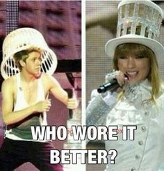 HOW DARE YOU TO ASK A QUESTION LIKE THAT OFC OUR LITTLE SNOWFLAKE NIALL WORE IT BETTER!!!