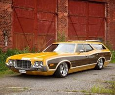 My Dream Car, Dream Cars, Station Wagon Cars, Caprice Classic, Cool Old Cars, Sports Wagon, Old Wagons, Ford Torino, Us Cars