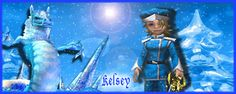Kelsey a forum signature Commission piece Wizard101
