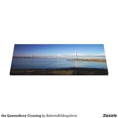 the Queensferry Crossing Leinwanddruck The Forth, Britain, World, Building, Vacation Pictures, Scotland, Artworks, Canvas, Buildings