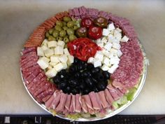 Antipasto Platter - This Italian Appetizer is Great for Parties! - Cooking Italian Recipes - Family Cooking and Wine Making