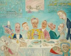 The Banquet of the Starved.  1915  James Ensor (Belgian)