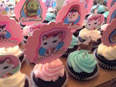 Sheriff Callie Cupcake toppers.