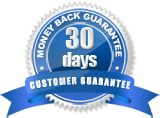Our customer guarantee of 30 days !