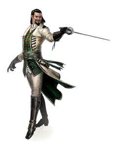Male Human Evil Swashbuckler - Pathfinder PFRPG DND D&D d20 fantasy