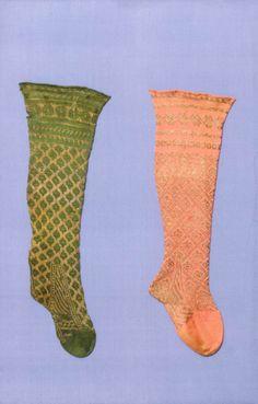 Gilt stockings, 1600-79.