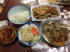 Supper 2013.01.28 at home.