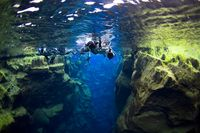 Golden Circle Tour and Snorkeling Experience with 4x4 Jeep Transport from Reykjavik #goldencircle #snorkel