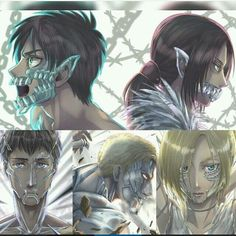 This is so cool how they combined their human form with their titan form.
