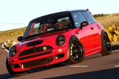 "Ultraleggera 18"" on Mini Cooper S JCW #mini #redmini"