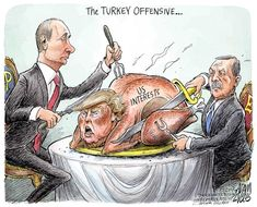 Official site of The Week Magazine, offering commentary and analysis of the day's breaking news and current events as well as arts, entertainment, people and gossip, and political cartoons. Trump Cartoons, Free Cartoons, Political Art, Political Cartoons, Funny Animal Pictures, Funny Animals, Theatre Of The Absurd, Buffalo News, The Week Magazine